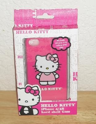 Hello Kitty Pink Hard Shell Case iPhone 4 / 4S