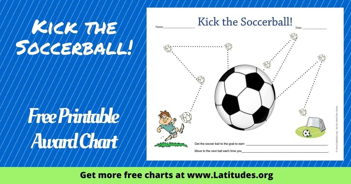 Kick the Soccer Ball Star Chart ACN Latitudes in 2020