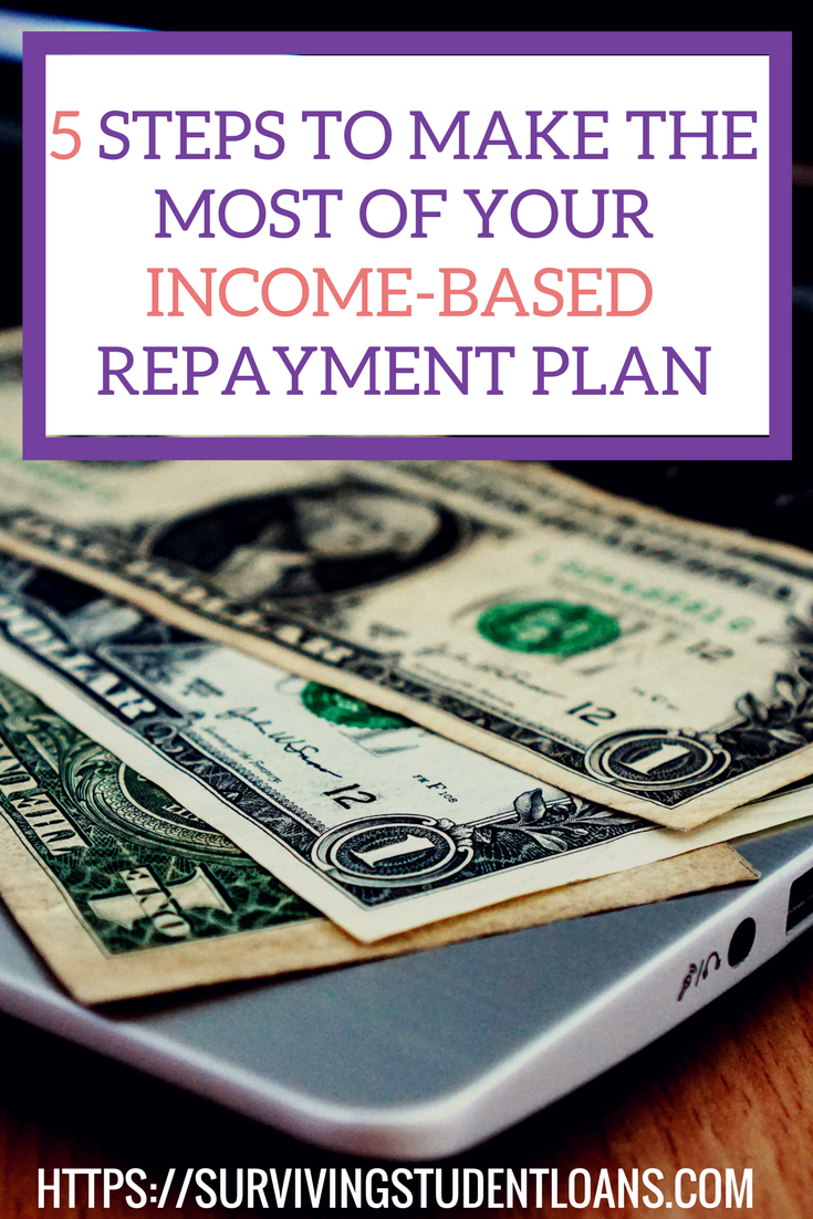Steps To Make The Most Of Your IncomeBased Repayment Plan