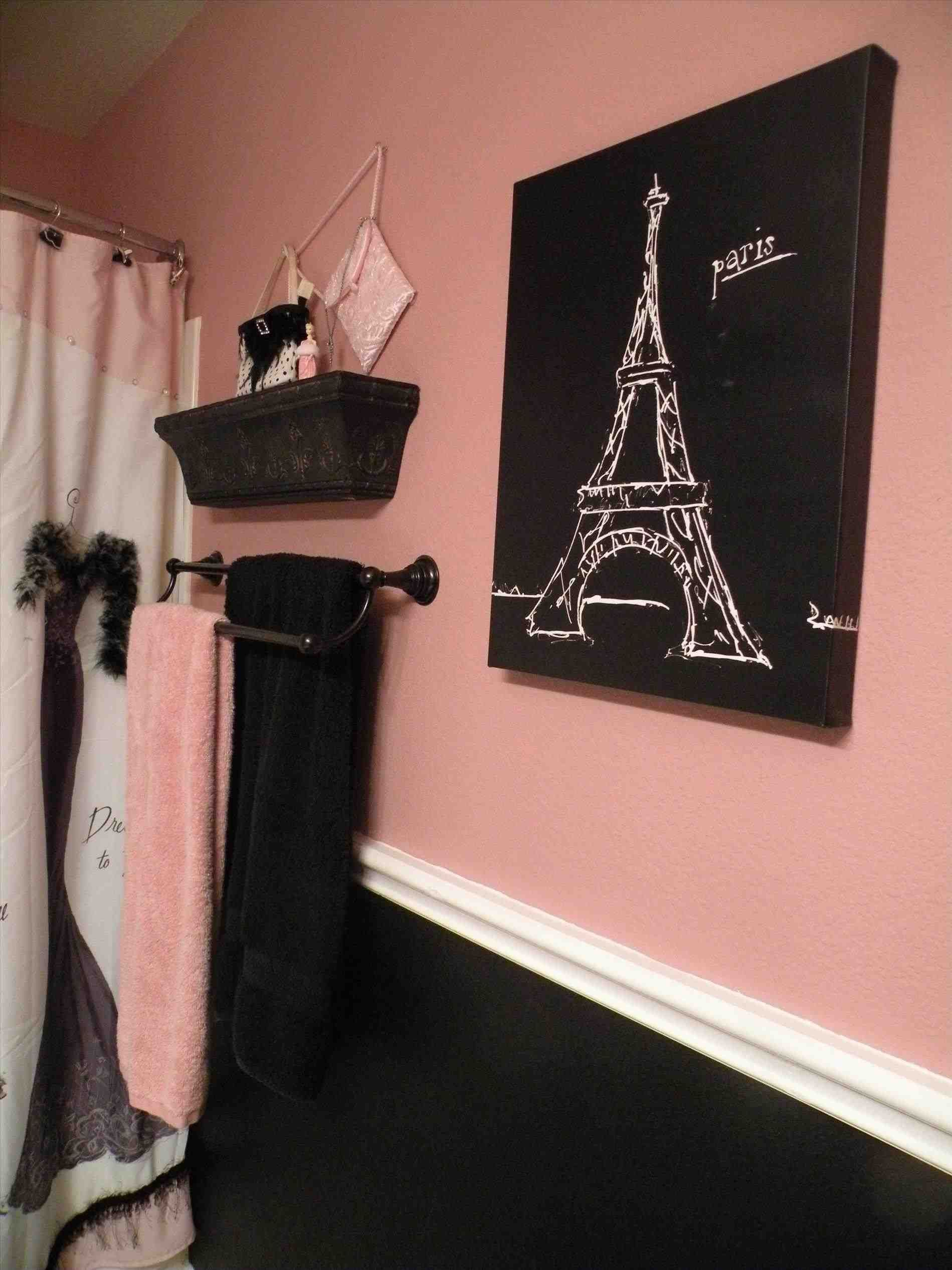 Black And Gold Bathroom Decor Paris Bathroom Paris Theme Bathroom Girly Bathroom