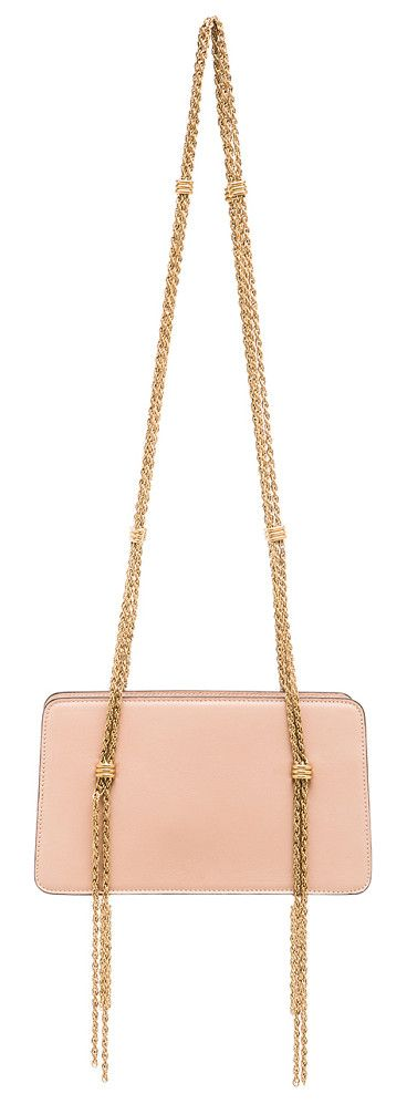 LANVIN Chain strap calfskin bag found on Nudevotion