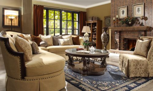 Formal-Classic-European-Style-Luxury-5-Piece-Sectional-Set-HD-1621