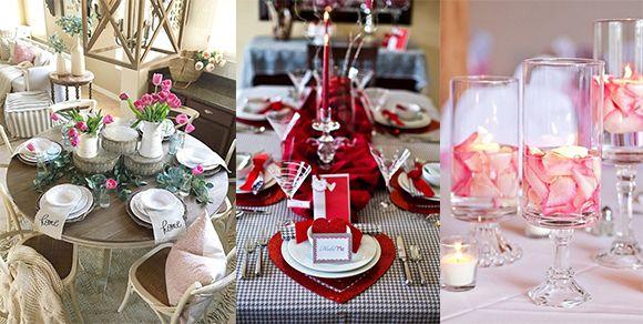 Wunderschöne DIY Ideen für romantische Tischdeko zum Valentinstag #weckgläserdekorieren