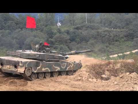 K2 탱크 사격 잠수. (K2 Tank fire. Diving) - YouTube
