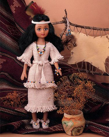 Do Fun!® Projects - Indian Princess #indianbeddoll