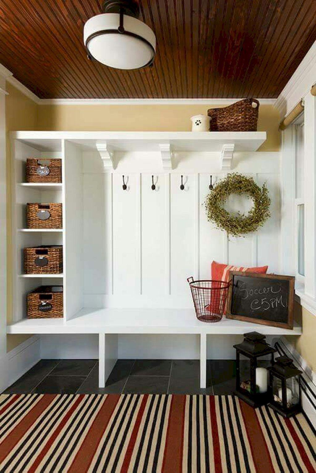 50 Inspiring Mudroom Entryway Decorating Ideas | Mudroom ...