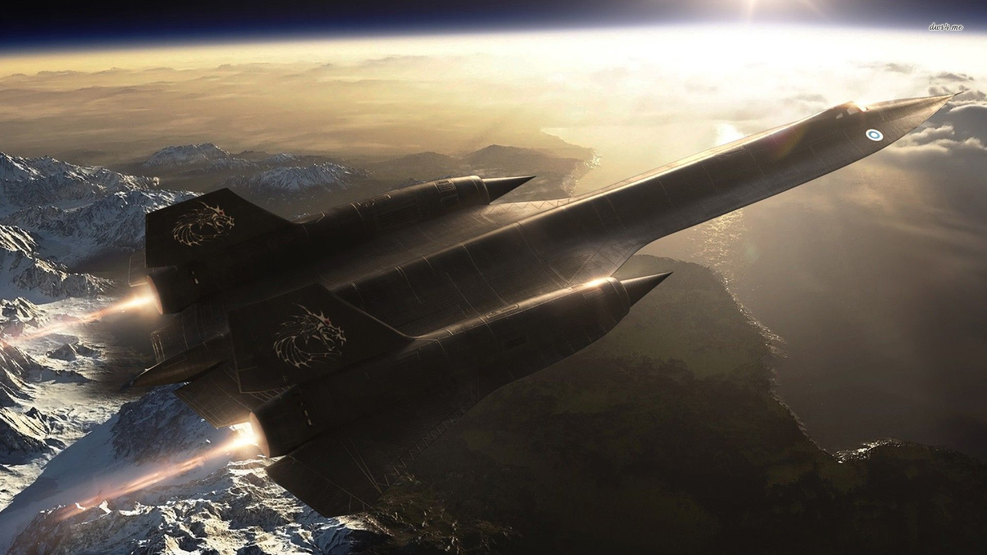 Lockheed Sr 71 Blackbird Wallpaper Aircraft Wallpapers