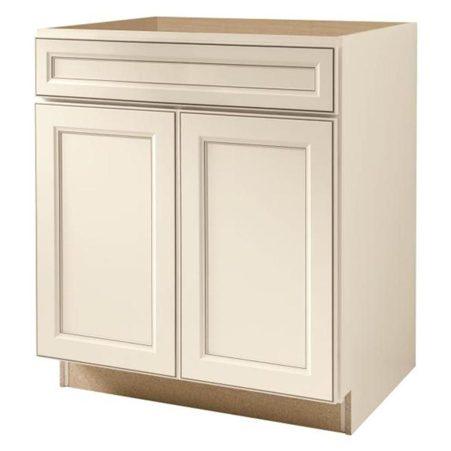 Diamond Now Caspian 30 In W X 35 In H X 23 75 In D Truecolor Toasted Antique Sink Base Stock Cabinet Lowes Com Stock Cabinets Base Cabinets Antique Door