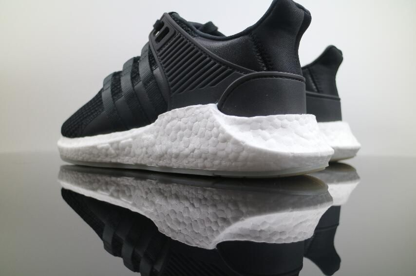 best website 197d9 ec702 Adidas EQT Support Boost Black White Sneakers 7