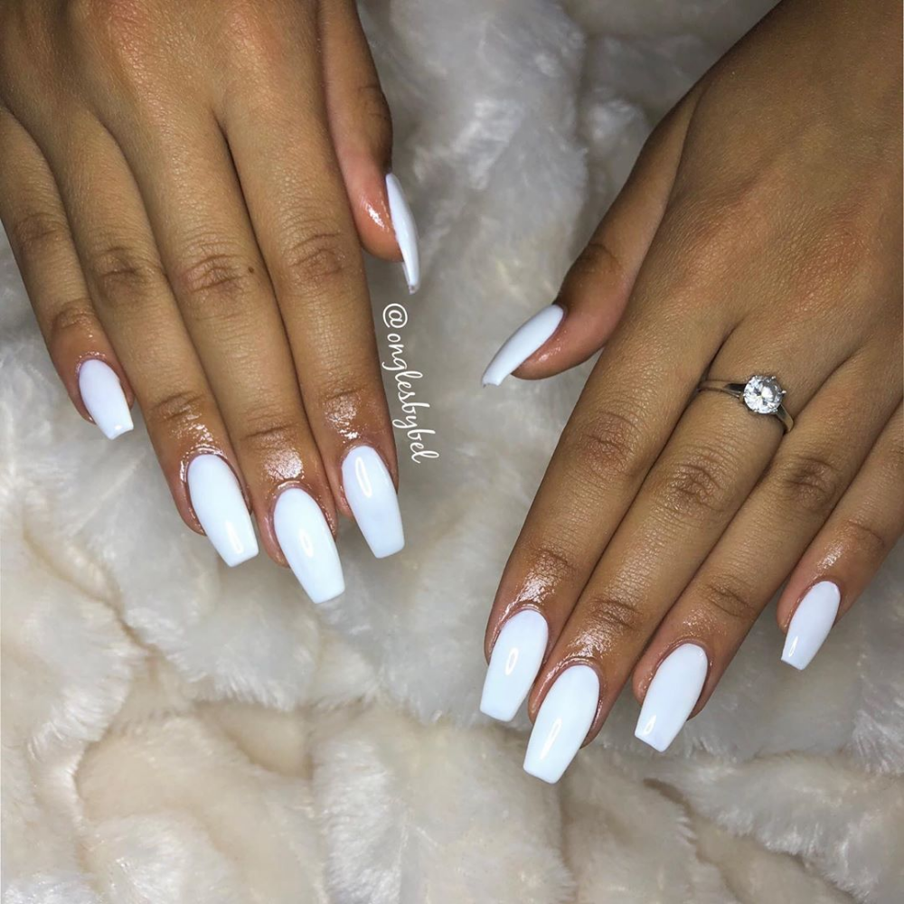 37 Best White Nails Art Designs In Summer 2019 Nail Art Designs White Nail Art White Nails