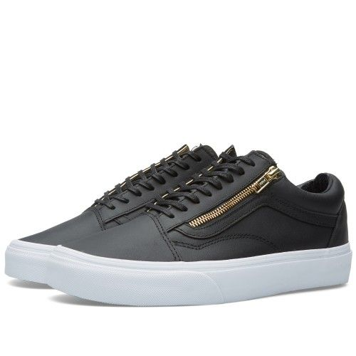 Vans Old Skool Zip (Black & Gold)