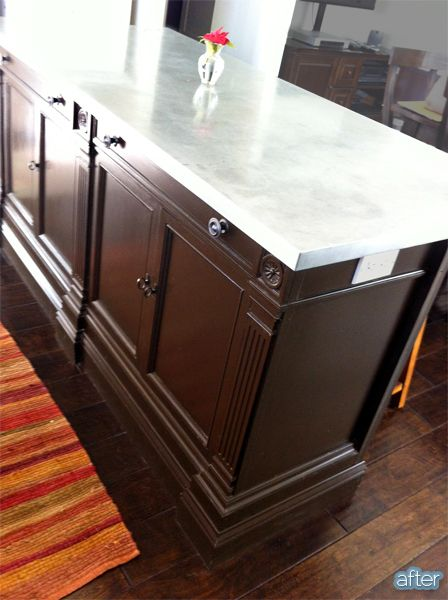 Come Away With Me To Craigslist Island Buffet Kitchens And DIY - Craigslist kitchen island