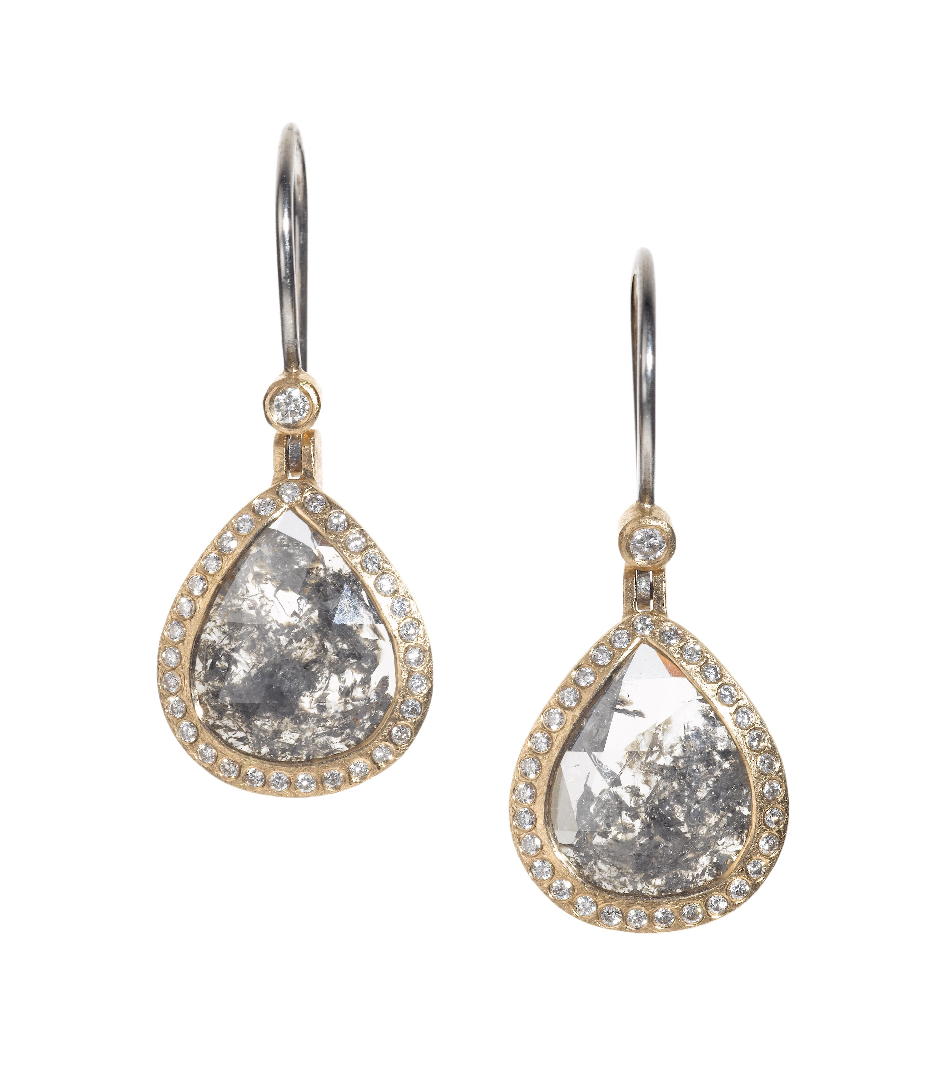 Todd Reed I Diamond earrings to compliment your up-do, made in ...