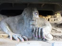 Seattle. Fremont Troll