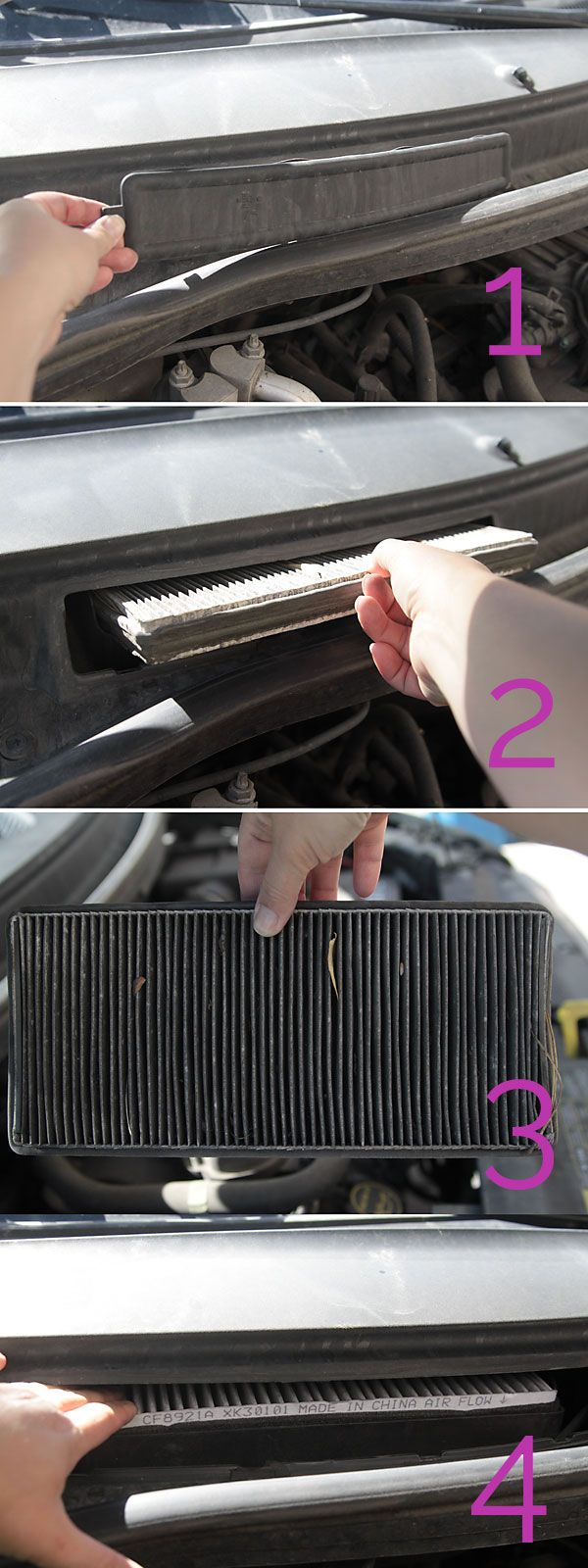 save money by changing your car's cabin air filter Car