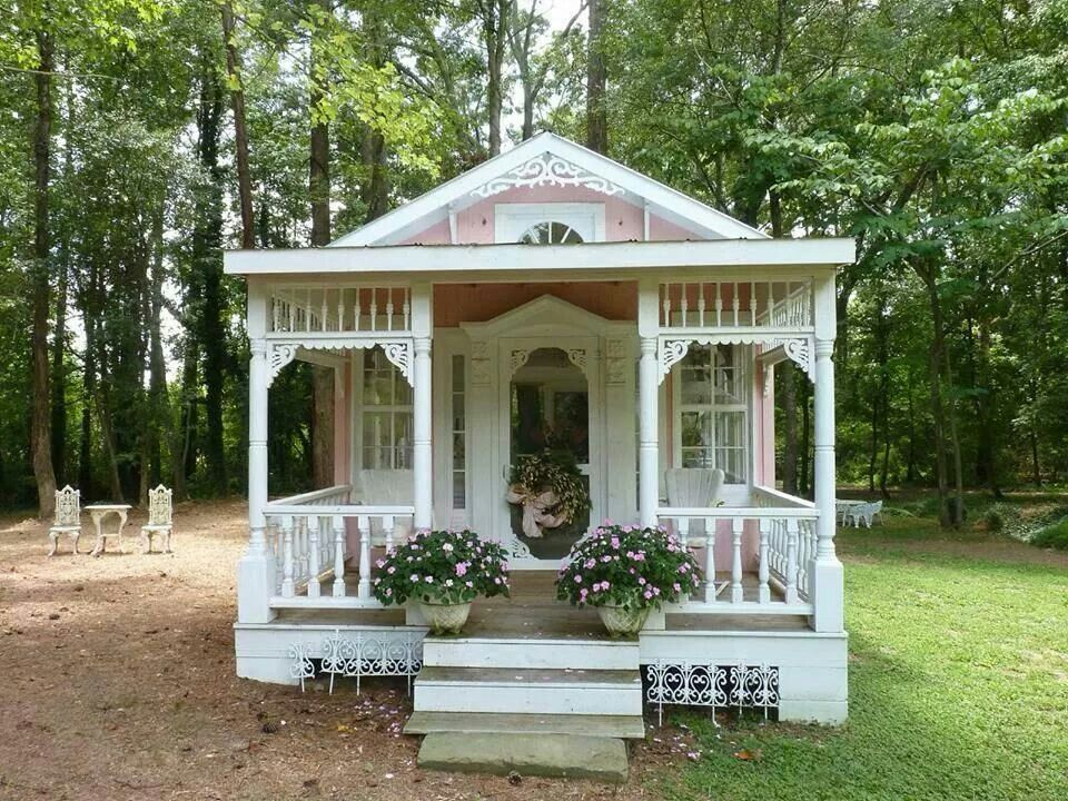 Cute Shabby Chic Cottage Small House Living