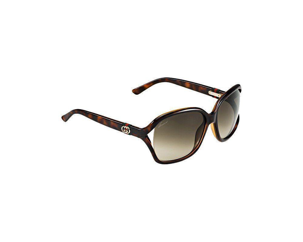 64ee51c9576 Gucci Sunglasses - 3646   Frame  Havana Lens  Brown gradient-GG3646S0DWJ ( eBay Link)
