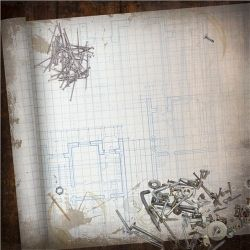 Paper house blueprint paper 12 x 12 25 per pack the gathering paper house productions handyman collection 12 x 12 paper blueprint paper craftshobbies scrapbooking supplies malvernweather Images