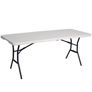6ft Showgoer Folding Table Table Fold In Half Table Furniture
