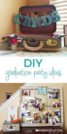 DIY Graduation Party Ideas #graduationparties