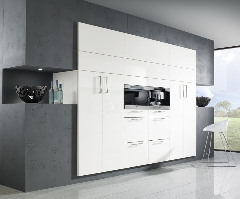 r sultat de recherche d 39 images pour cuisine laqu e blanc. Black Bedroom Furniture Sets. Home Design Ideas