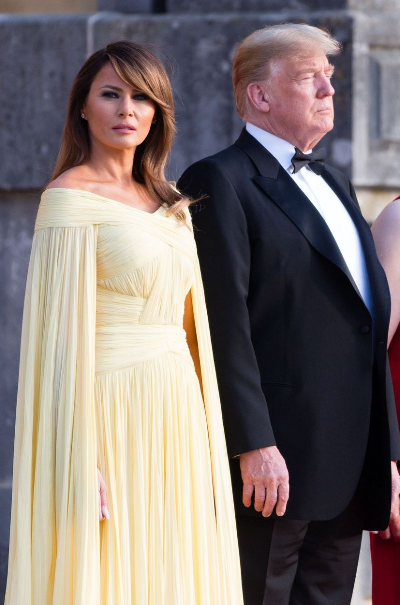 Melania Trump Compared To Disney Princess In 5000 Yellow Gown For