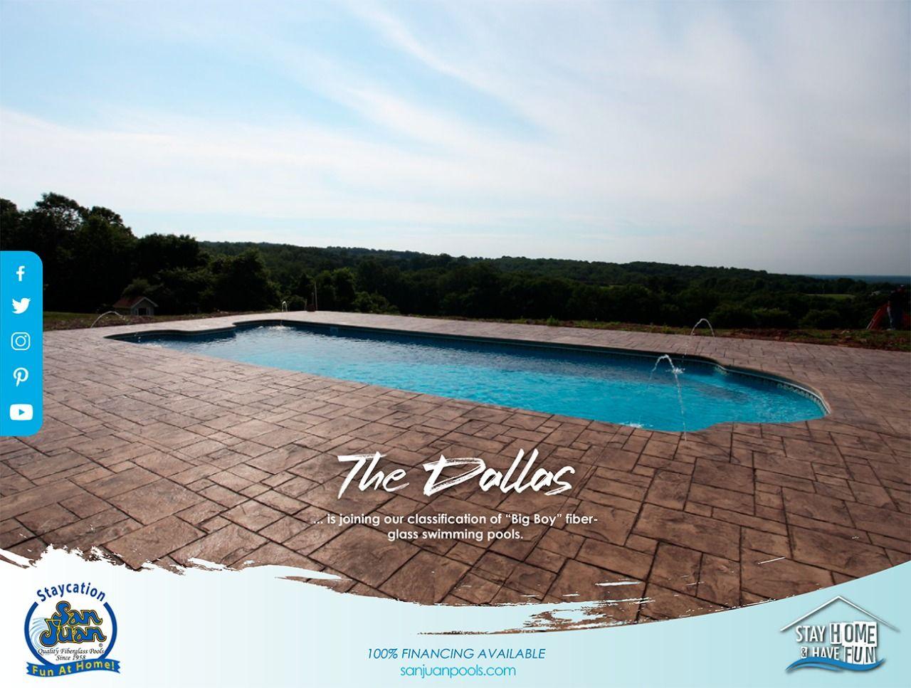 The Dallas San Juan Pools Pool Fiberglass Swimming Pools San Juan Pools