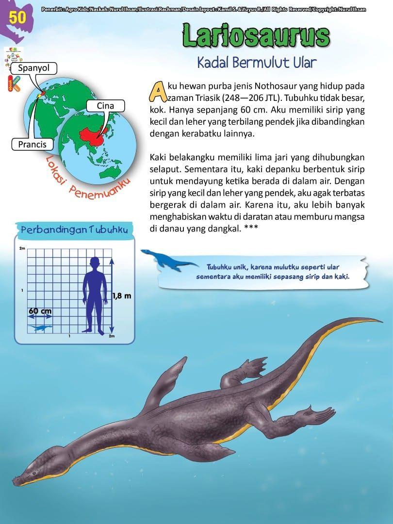 Buku Pintar Ensiklopedia Dinosaurus Dan Binatang Purba Katabaca