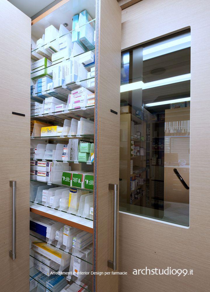 Pharmacy Interior Design Solutions By Archstudio99 Siracusa Sicily Tel 39 0931 757801 Info Archstudio99 It Www Archstudio99 It Pharmacie Design Pharmacie