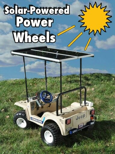 Solar golf cart to run to the beach or quick stop store - Keep it in on