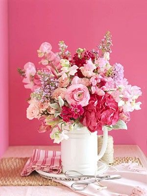 Flowers...maybe for a girl baby shower?