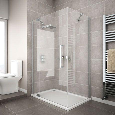 Apollo Frameless Hinged Door Rectangular Enclosure L H Opening In 2020 Shower Cubicles Frameless Shower Enclosures Shower Enclosure
