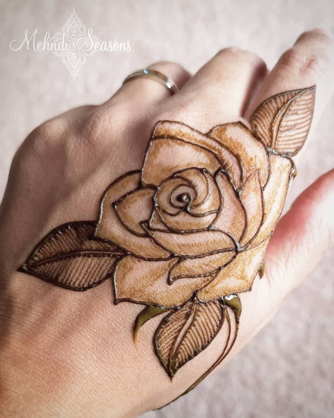 No Photo Description Available Henna Art Designs Rose Mehndi Designs Henna Designs