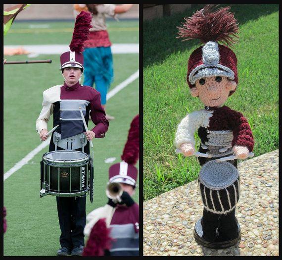 Custom Marching Band Member by kraftykatskrochet on Etsy | Crochet