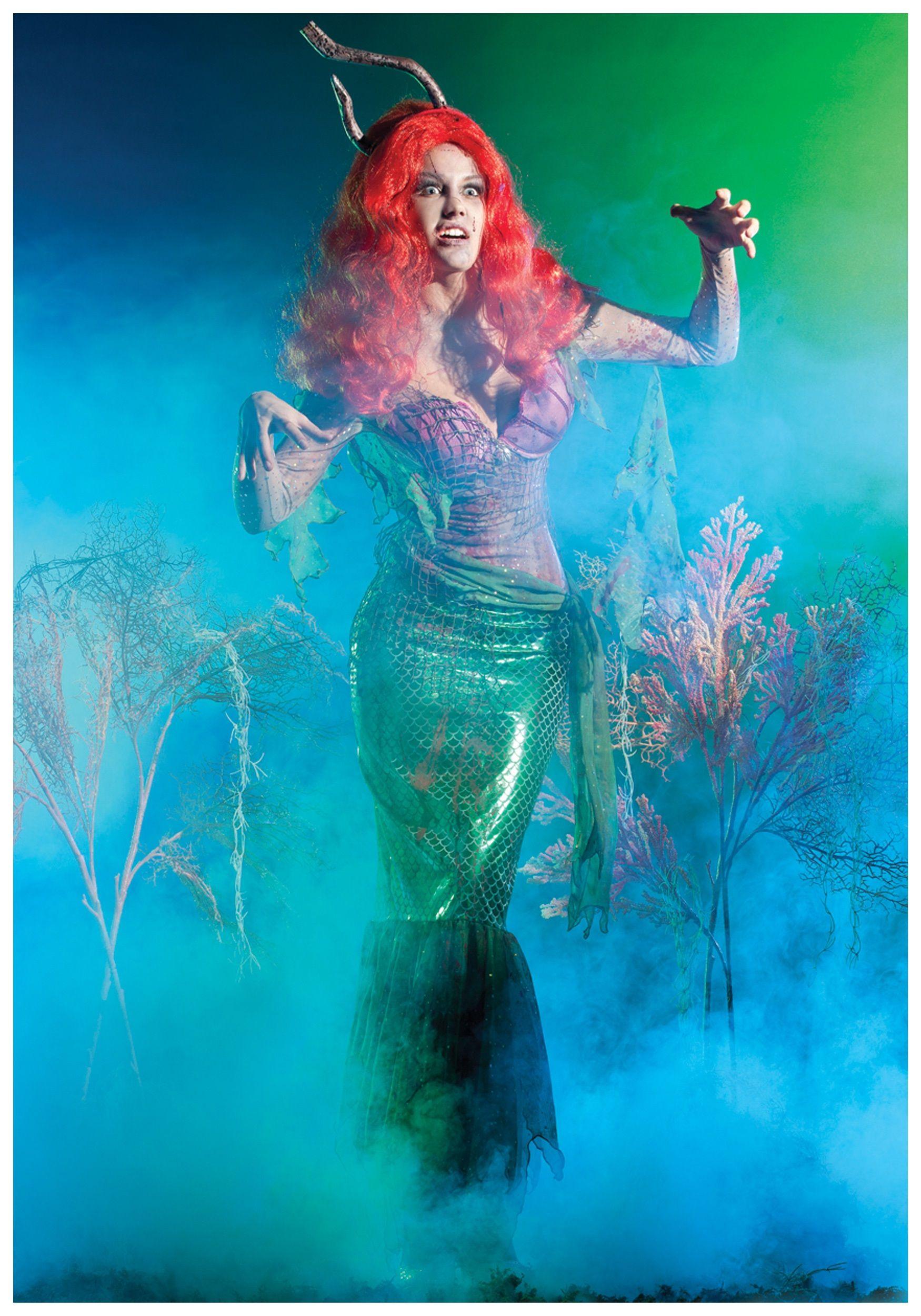 Mermaid Zombie Costume | Costumes and Halloween ideas