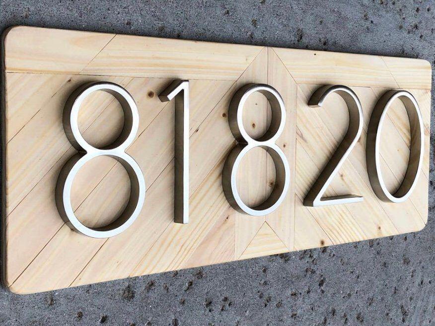 Address Plaque Number Sign Address Numbers Address Sign Beach Cottage Decor Beach Cottage Sign House Numb Address Plaque House Number Plaque Address Sign