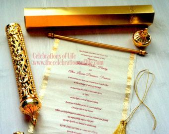 Scroll Invitations By Knoahsart2015 On Etsy Coming To America Baby