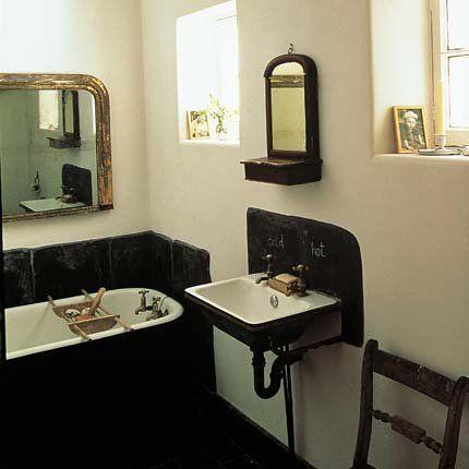 La salle de bains de David Campell et Anita Avegora Salle de bains