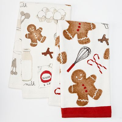 Gingerbread Kitchen Towels From Kohl S Gingerbread Kitchen