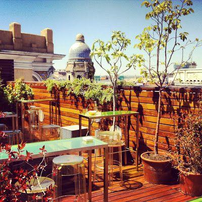 Atico De Las Letras Madrid Gracias A Gastrotxusan Madridseduce Verano Terrazas Madrid Restaurantes Madrid Terraza