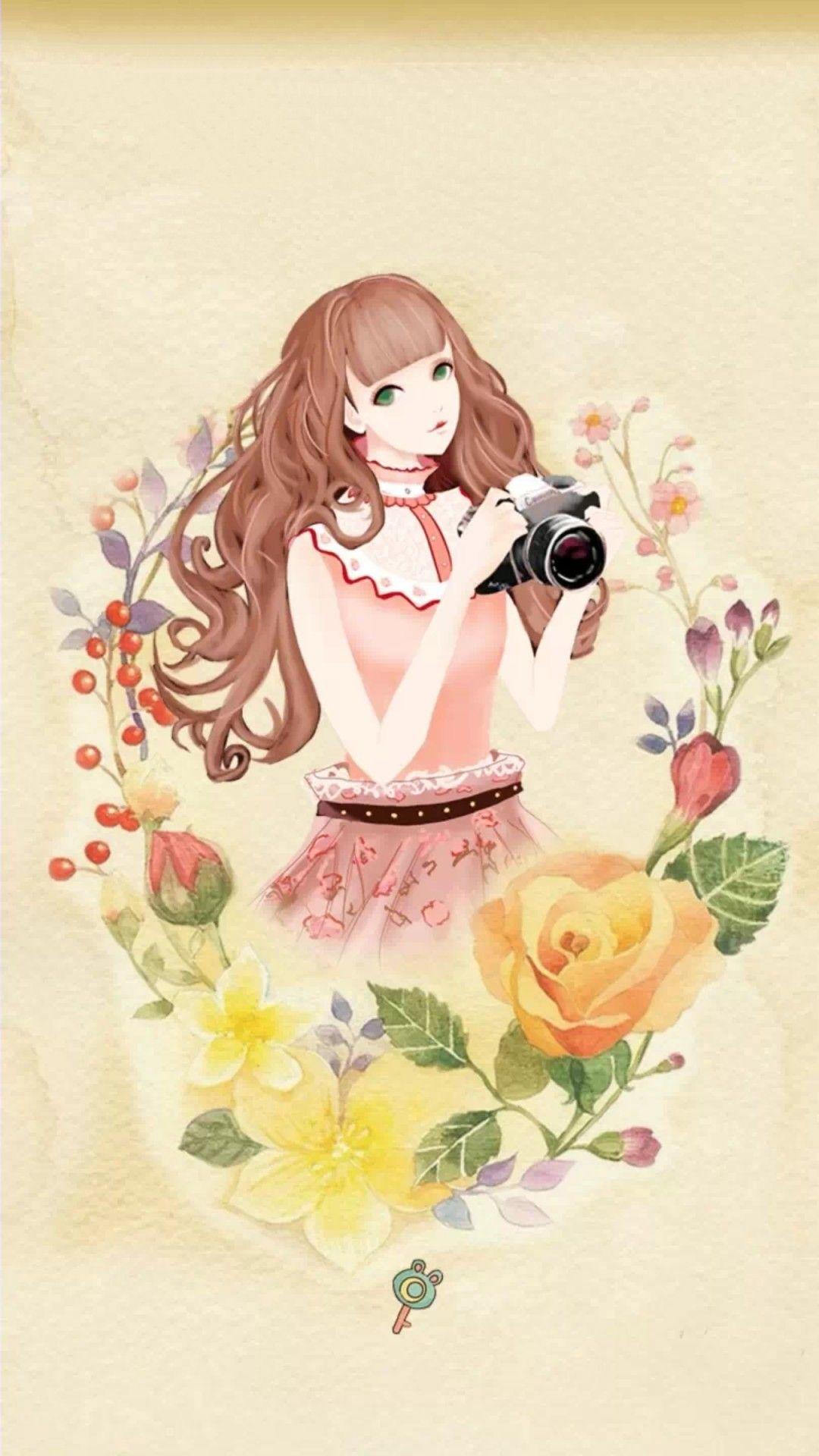 Pin oleh ROSE di Wallpaper 2 Seni anime, Seni