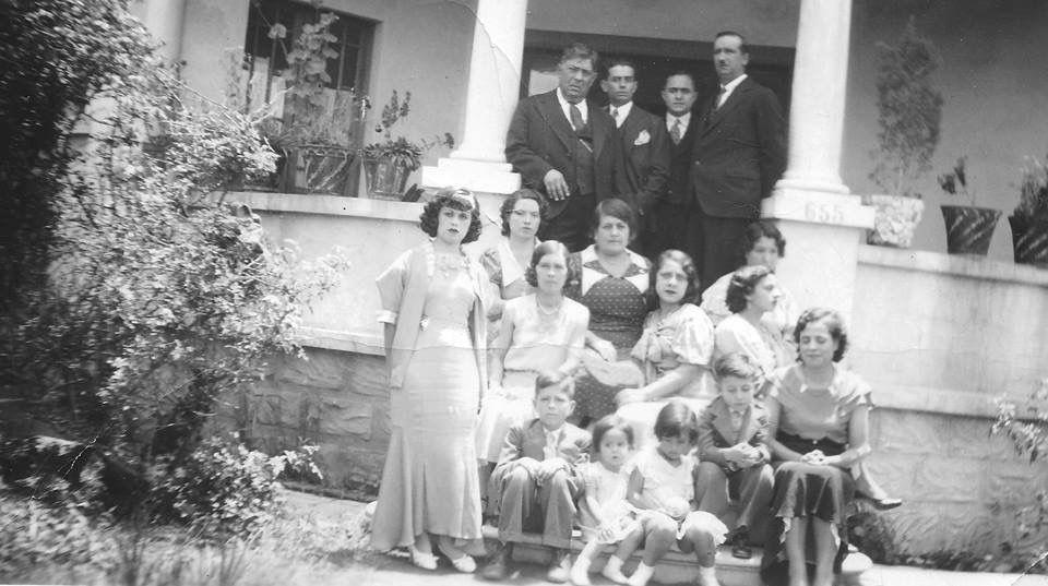 Familia Muñoz en el Distritio Federal