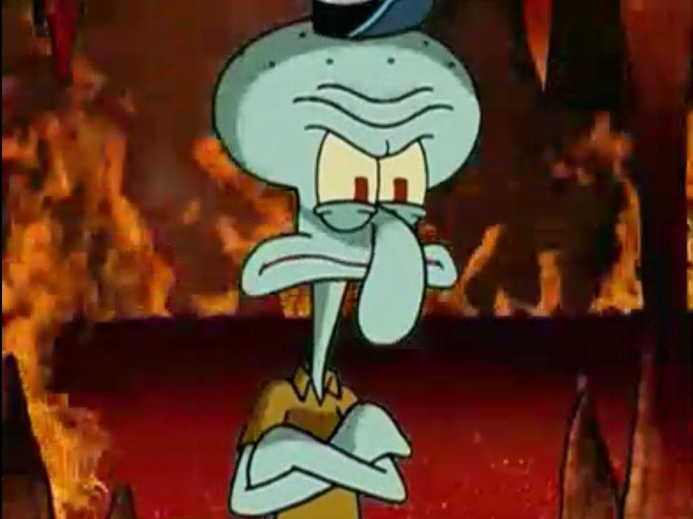 Squidward | Spongebob | Spongebob, Funny spongebob memes