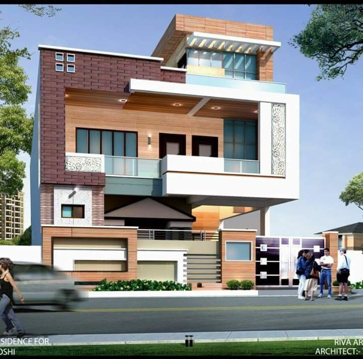 Pin by Rameshd Rames on excellent designs | Facade house ... Wall Of House Front Residential Design on front of house storage, front of house trees, front of house landscaping, front of house awards, front of house signs, front of house decor, front of house lighting,