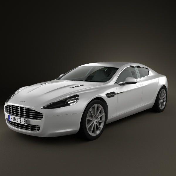 3d Model Of Aston Martin Rapide 2010 Aston Martin Rapide Aston Martin Aston Martin Models