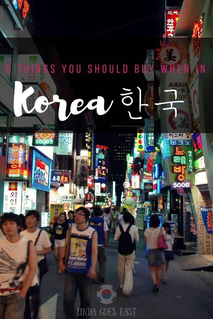 What To Buy When in Korea | Linda Goes East