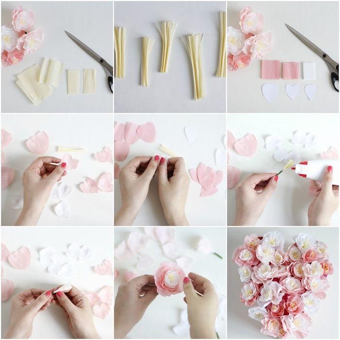 1001 + tutos et idées top comment faire une fleur en papier soi-même | Fleurs en papier, Comment ...