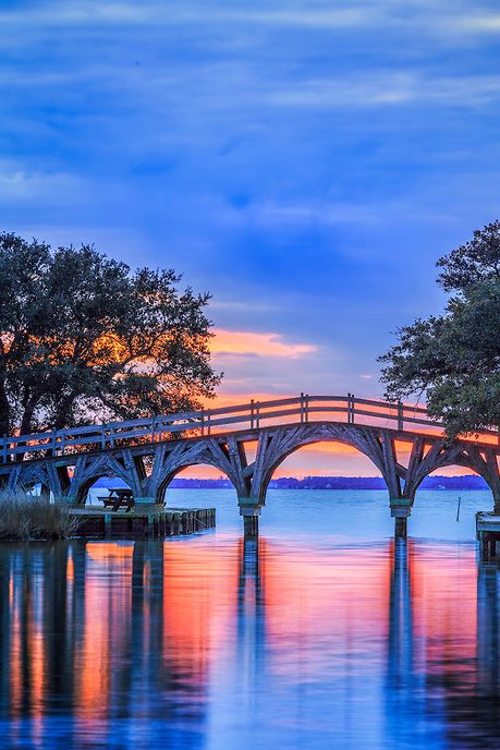Pin By Dan Waters On Favoriate Photos Outer Banks Vacation Wooden Bridge Obx Vacation