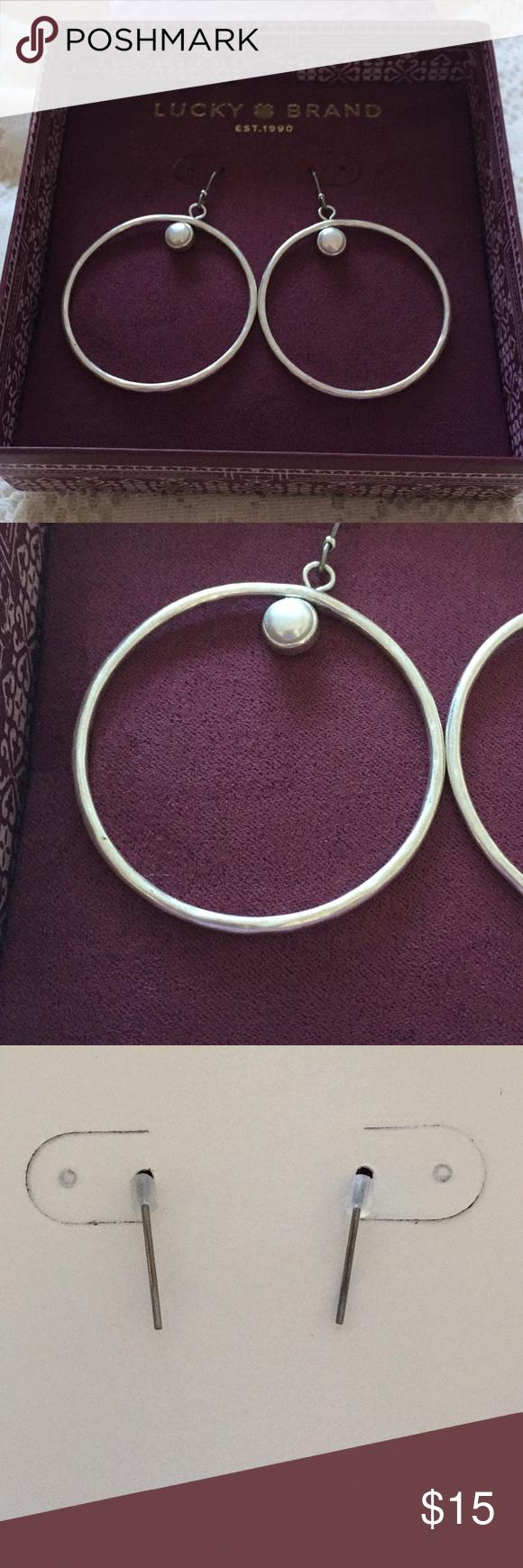 Lucky  Ud83c Udf40 Hoop Earrings