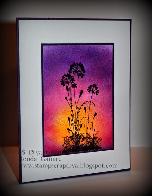 Stamp Scrap Diva: Sunsets Galore